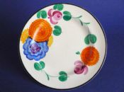 Early Susie Cooper Gray's Pottery Tea Plate - Floral Pattern 7503 c1928 #1 (Sold)